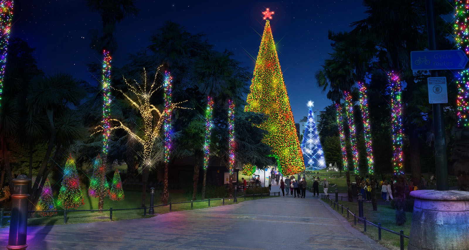 Christmas Tree Wonderland.Bournemouth To Welcome Brand New Winter Attraction