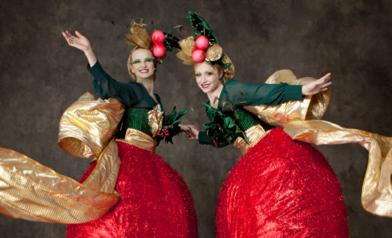 The Christmas Belles act.
