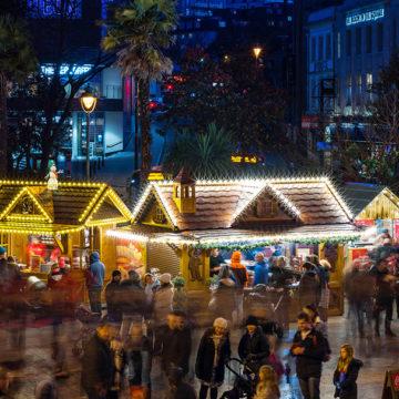 Bournemouth transforms into a Christmas Tree Wonderland