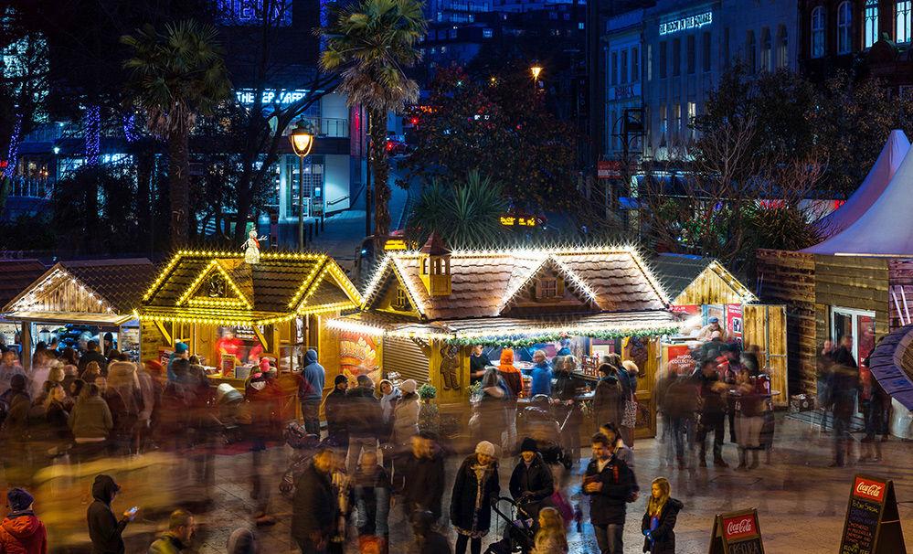 Bournemouth transforms into a Christmas Tree Wonderland