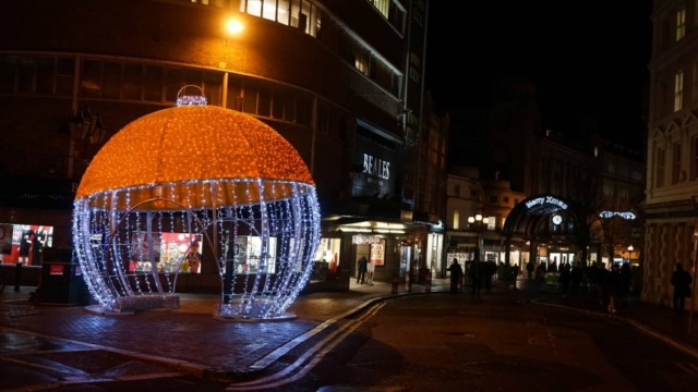 Bournemouth's Christmas Tree wonderland Bauble