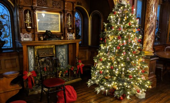 Russell-Cotes Victorian Christmas Tree