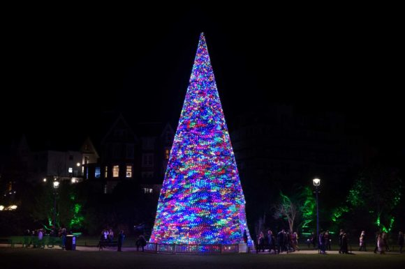 Christmas Tree Wonderland returns to light up  Bournemouth in 2019.