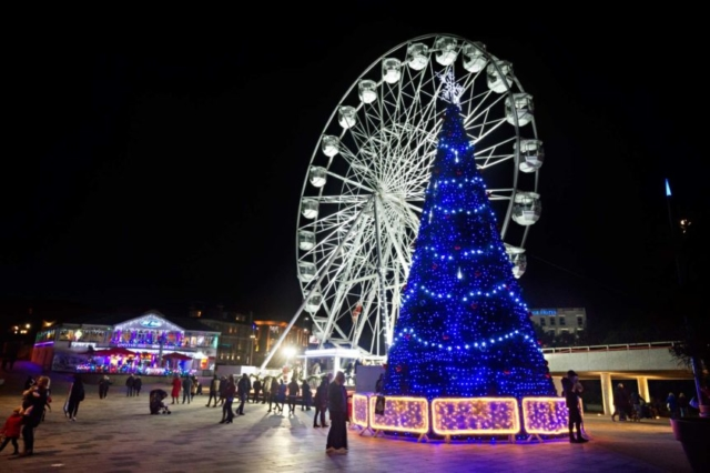 St Petersburg Tree and Bournemouth's big wheel