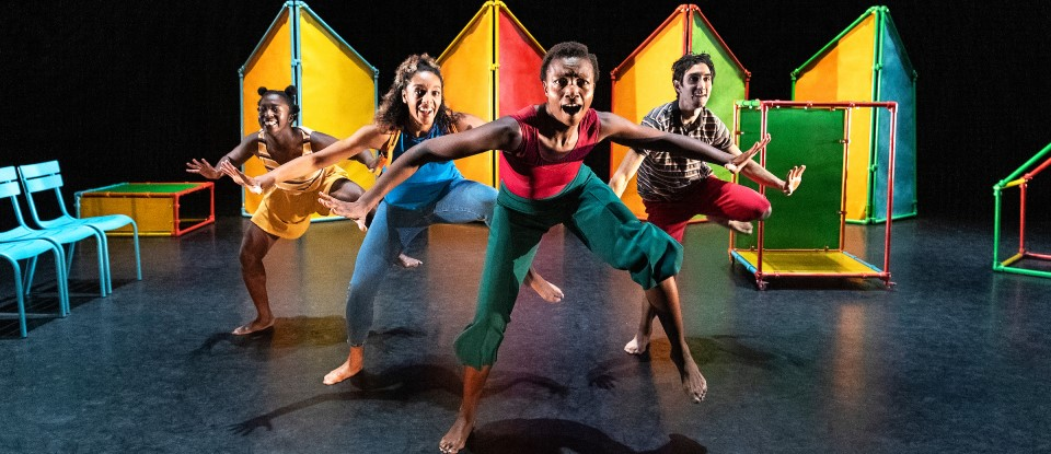 Dancers performing at Pavallion dance for hansel and gretel this summer