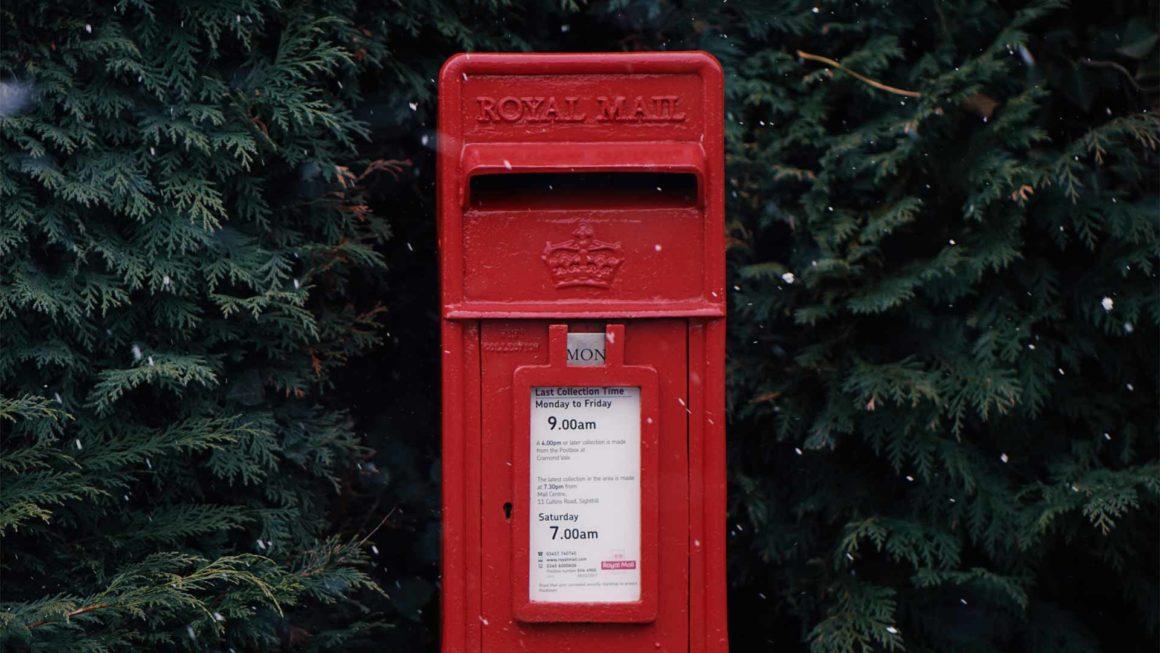 Christmas pox box for santa letters